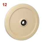 "12"" Nylon, Round Groove, 12-NRI, interlocking (nesting) design, with bearing"
