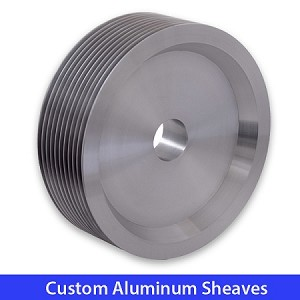 "12"" MULTIPASS CAPSTAN SHEAVE , 10 FLAT GROOVES, (12-AF)"