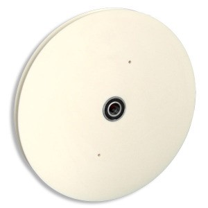 "30"" CAST NYLON SHEAVE, ROUND GROOVE, WITH BEARING (30-NR)"