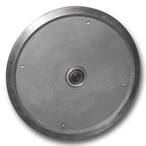 "31"" CAST ALUMINUM SHEAVE, FLAT GROOVE, WITH BEARING (31-AF)"